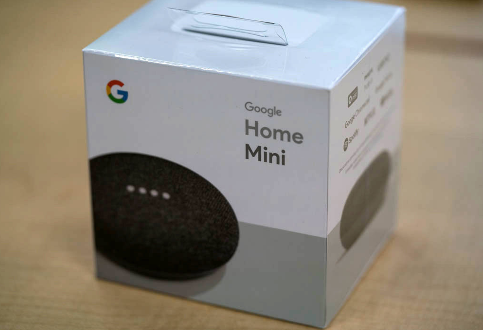 NEW Google Home Mini Smart Speaker with Google Assistant - Charcoal w/ Warranty