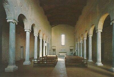 AK Fiesole. Inneres der Basilica di S. Alessandro