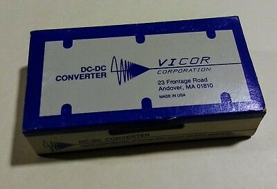 New Vicor Vi 161 Power Supply  Dc Dc Convertor  150W  270Vdc 12Vdc