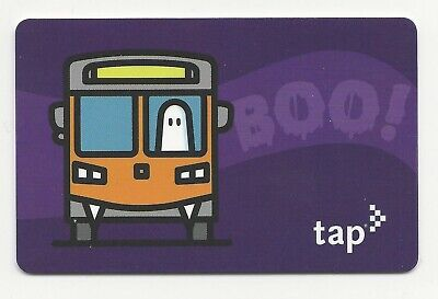 Halloween Los Angeles (NEW Active Halloween BOO 2019 Los Angeles Metro LA TAP Fare Card Bus Rail)