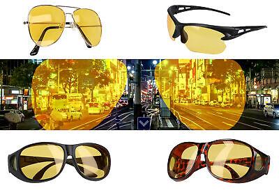 Auto Nachtfahrbrille Nachtsichtbrille Kontrastbrille Nachtsicht Kontrast Brille