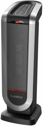 Lasko Ceramic Heaters Digital Display Remote Control 22-Inch Tower Electric