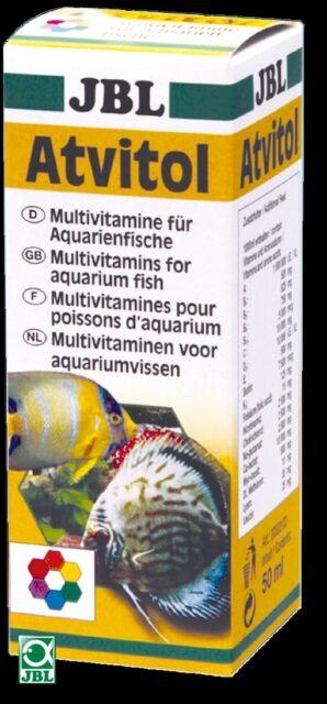 JBL Atvitol 50ml (multi vitamin fish food aquarium freeze dried live frozen dry)