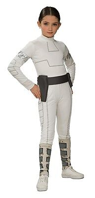 Girls Padme Amidala Costume Star Wars Starwars Padma Amadala Fancy Dress Child](Padme Costumes)