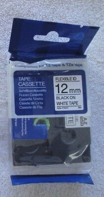 Compatible Tze-fx231 Label Tape Tzefx231 Cable Wire 12mm 12 Flexible Brother