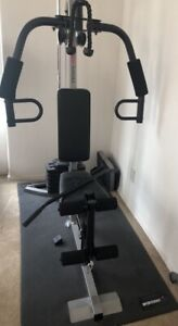 Weider 1200 exercise home gym