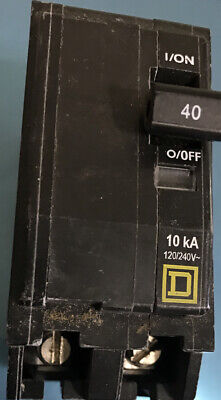 Square D Qo240 2-pole 40-amp Qo Circuit Breaker