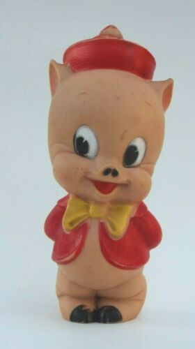 Porky Pig Squeeze Toy 1950