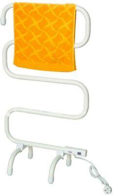 Secador toallas toallero Electrico tendedero pie pared 5 barras,100W,acero,50ºC