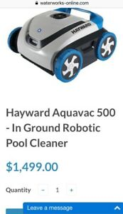 Hayward Aquavac 500 - In Ground Robotic Pool Cleaner.