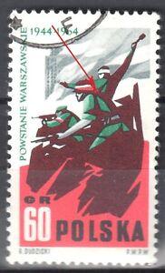 Poland 1964 - Warsaw Fighters - error Mi. 1513 - used - Cieszyn, Polska - Poland 1964 - Warsaw Fighters - error Mi. 1513 - used - Cieszyn, Polska