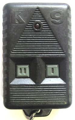Parts only keyless remote K-9 key fob transmitter entry responder alarm clicker