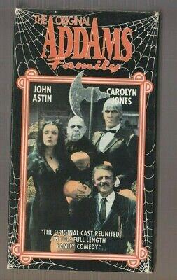 Original Addams Family Halloween (The Original ADDAMS FAMILY TV HORROR Monster Halloween VHS Carolyn)