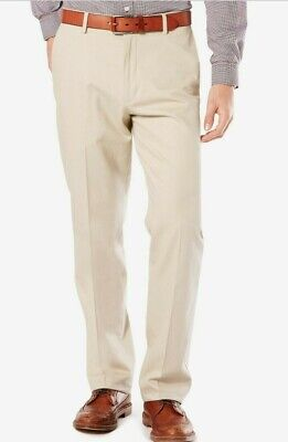 Dockers D3 Stretch Best Pressed Slim Fit Cloud Beige Pants 42 x 30  Men