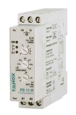 Single-Phase Pump Protection Relay WITHOUT LEVEL SENSOR, by Undercurrent