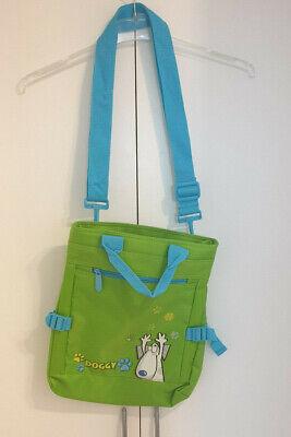 NEU Umhängetasche für Mädchen oder Jungen verstellbar Grün/Blau - Umhänge Für Mädchen