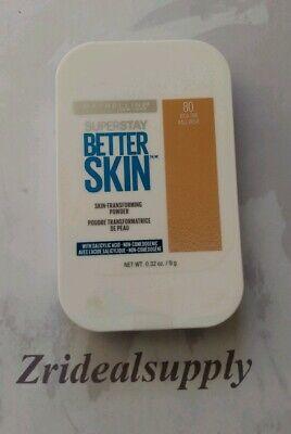 MAYBELLINE SUPERSTAY BETTER SKIN TRANSFORMING POWDER 80 RICH TAN (Best Non Comedogenic Pressed Powder)