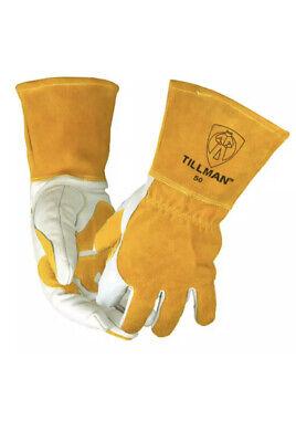 Tillman Welding Gloves - Top Grain Split Cowhide Mig Glove 50m Medium New