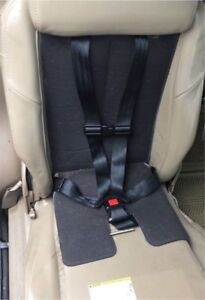 Integrated child car seat/regular seat for GM vans