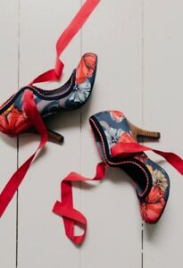 BNIB Pin Up Retro- Mary Jane style shoes