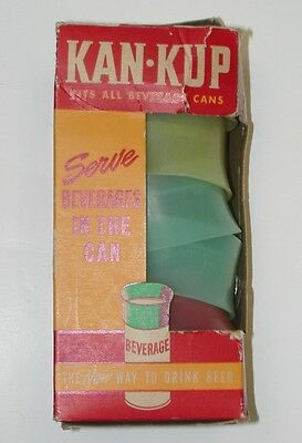 Vintage Kan Kup with 6 Tops in Box