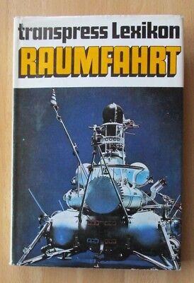 DDR Buch Lexikon Raumfahrt Apollo Titan Raketen Sputnik Space Shuttle Sonne Mars
