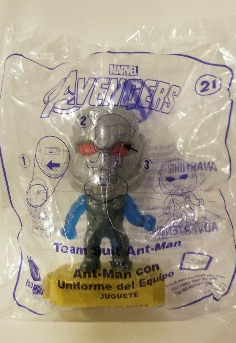 Avengers (2019) McDonalds Happy Meal Toys- Fast Shipping! #21 Team Suit Ant Man