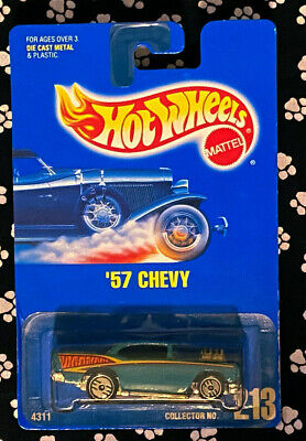 Hot Wheels 57 CHEVY    COLLECTOR 213