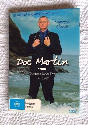 Doc Martin : Season 2 (DVD, 2006, 2-Disc) R-4, LIKE NEW, FREE POST IN AUSTRALIA