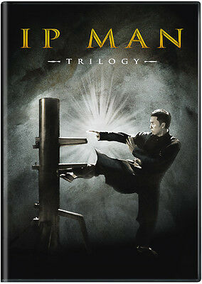 Ip Man Trilogy (DVD) Ip Man (2008), Ip Man 2 (2010), Ip Man 3 (2015), Bonus Disc
