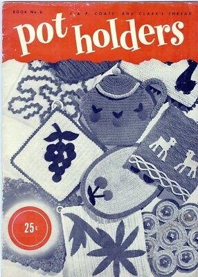 Винтажные Crochet PATTERNS 50 Vintage Pot