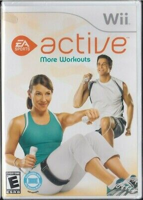 EA SPORTS ACTIVE MORE WORKOUTS (Nintendo Wii,