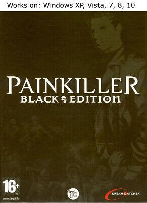 Painkiller Black Edition PC Game Windows XP Vista 7 8 10 Battle out of Hell Windows Xp Black Edition