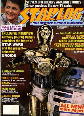 STARLOG Magazine # 99 Oct.1985 Science Fiction Media Full-Color Photos Articles ()