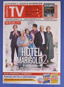 HOTEL MARIGOLD 2 JUDI DENCH RICHARD GERE Daredevil Charlie Cox, Jay Leno - <span itemprop=availableAtOrFrom>europe, Polska</span> - Zwroty są przyjmowane - europe, Polska