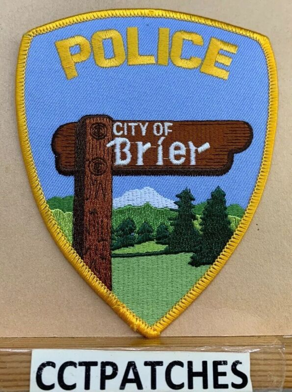 CITY OF BRIER, WASHINGTON POLICE SHOULDER PATCH WA