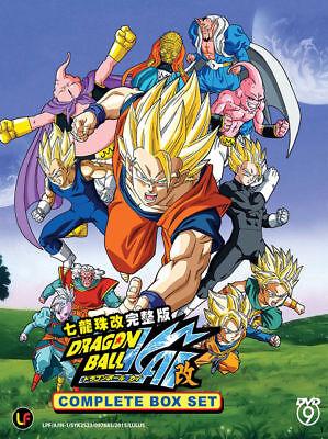 DVD Anime DRAGON BALL Z KAI Complete Series (1-167 End) 11-DVD English Audio Dub