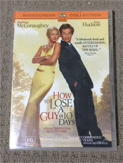 """""""How to lose a guy in 10 Days"""" DVD"""