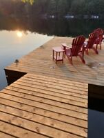 Waterfront cottage with new large bunkie in the Muskokas