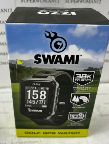 IZZO SWAMI Golf GPS Watch - BRAND NEW Factory Sealed - FREE Shipping!