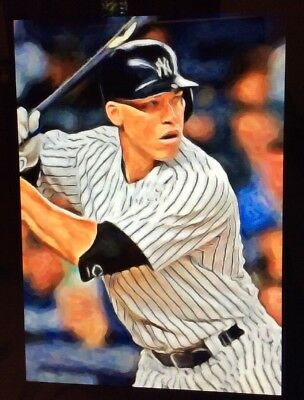 2017 Aaron Judge  Rookie Limited Edition Art Card 1 Of 49  Aceo Yankees