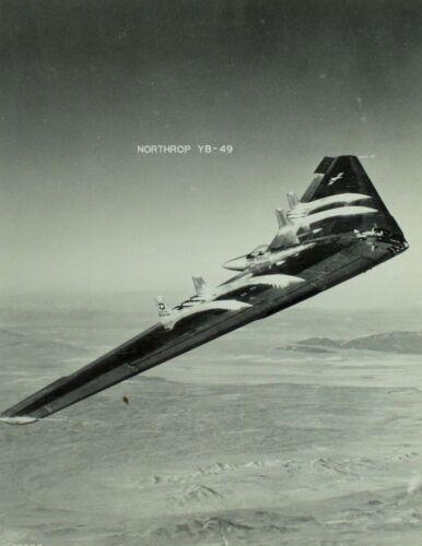 "Vintage Original Northrop YB-49 U.S. Military 8"" X 10"" Photo Scarce! C1"