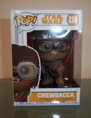 FUNKO POP - STAR WARS CHEWBACCA #239 FIGURINE / BOBBLE-HEAD NEW IN BOX