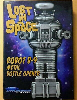 Lost In Space Robot B-9 Metal Refrigerator Magnet Bottle Opener