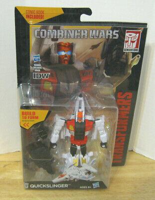 Transformers Combiner Wars Deluxe Quickslinger ~ Aerialbot ~ Superion ~ NIP VHTF
