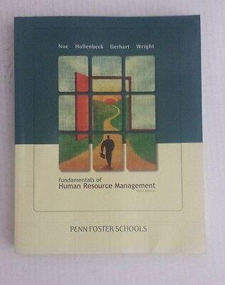 Fundamentals Of Human Resource Management 3Rd Edition Penn Foster Schools Hollen