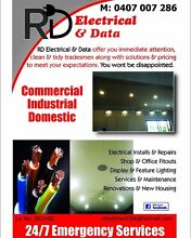 RD electrical & data Windsor Hawkesbury Area Preview