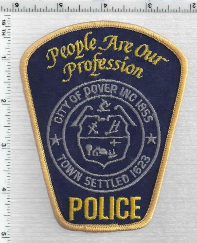 City of Dover Police (New Hampshire) 4th Issue Shoulder Patch
