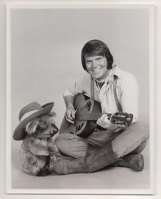 GLEN CAMPBELL Country Singer Songwriter Guitarist 1976 VINTAGE ORIG PHOTO