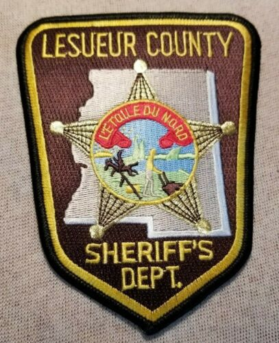 MN Lesueur County Minnesota Sheriff Patch